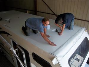 A new roof does more than look good - it protects your vehicle and your investment